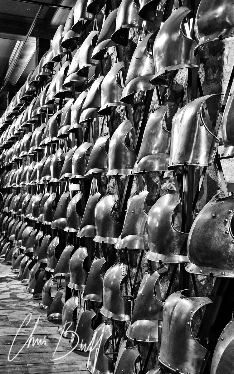 Wall of Armor - Christopher Buff, www.Aviationbuff.com