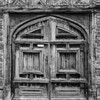 Black and White image of the door to King Henry VIII's Hunting Lodge - Christopher Buff, www.Aviationbuff.com