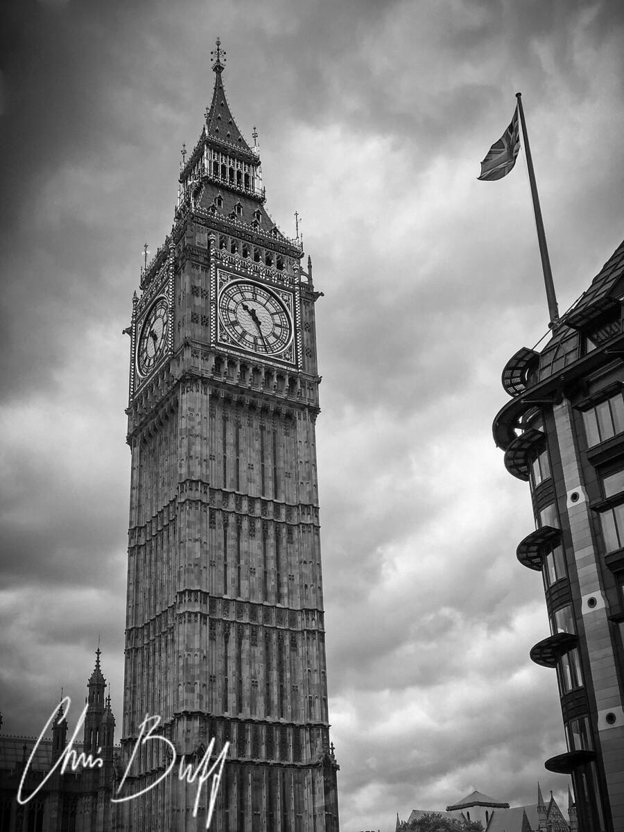 Big Ben - iPhone 6 photo captured by Carla Buff. London, UK