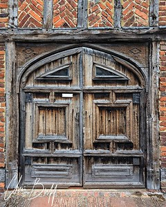 Door to King Henry VIII's Hunting Lodge - Christopher Buff, www.Aviationbuff.com