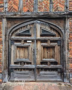 Door to King Henry VIII's Hunting Lodge - Christopher Buff, www.Aviationbuff.com