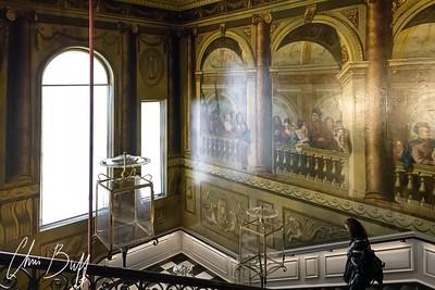 Kensington Palace Stairway - Christopher Buff, www.Aviationbuff.com