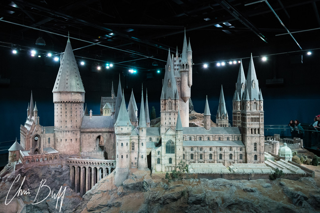 Hogwarts Model - Harry Potter Studio Tour London - 2015 Christopher Buff, www.Aviationbuff.com
