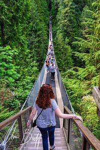 Capilano Suspension Bridge, Vancouver, BC - 2018 Christopher Buff, wwwAviationbuff.com