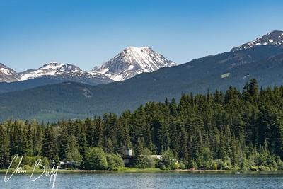 Mountains over Lake - 2018 Christopher Buff, www.Aviationbuff.com