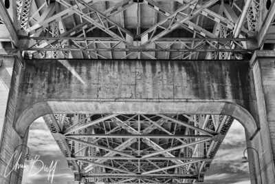Under the Bridge - 2018 Christopher Buff, www.Aviationbuff.com