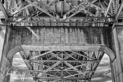 Under the Bridge - 2018 Christopher Buff, www.Aviationbuff.com
