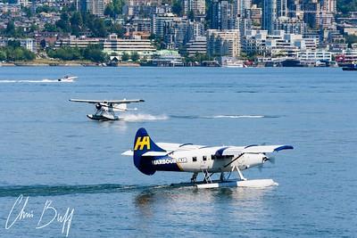 Harbour Traffic - 2018 Christopher Buff, www.Aviationbuff.com