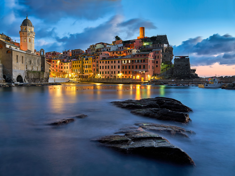 """Harbor Dreams"" – Vernazza, Italy"