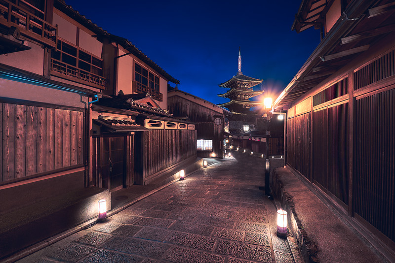 """Samurai Nights"" – Kyoto, Japan"