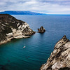"""The Lone Boat in the Channel Islands"" – Channel Islands, California"