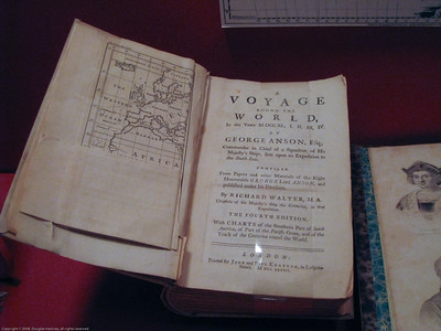 Record of a circumnavigation from the age of discovery. Patagonia Museum, Argentina.