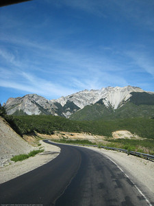 On the road, Argentina