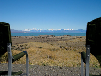 Lunch stop along Ruta 40 (Route 40), Argentina.