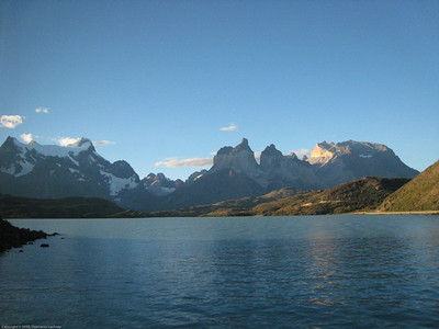 Mountain view. Parque Nacional Torres del Paine, Chile
