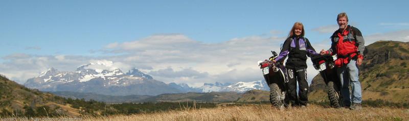 Timer self portrait. Parque Nacional Torres del Paine, Chile