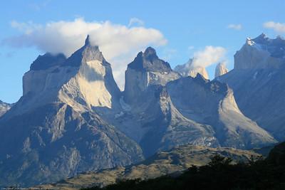 Cuernos and torres, Parque Nacional Torres del Paine, Chile