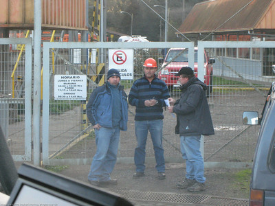 Negotiating to fill the main LP tank. No luck at this facility. It was near a city and within the bureaucracy bubble. Chile.