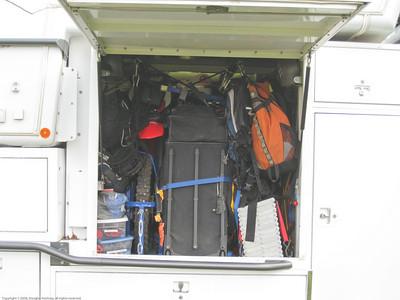 Garage loaded. Passenger side. Valdivia, Chile.