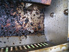 What the inside of the grill looks like when it hasn't been cleaned in a while.