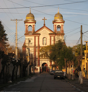 Convent church. Lenares, Chile.