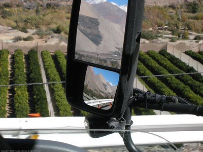 Mirror view. Elqui Valley, Chile.