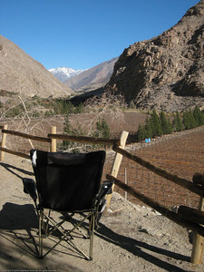 Campsite view. Elqui Valley, Chile.