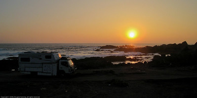 Camp site. North of Taltal, Chile.