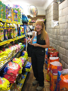 Steph discovers her most treasured product at retail. Cusco, Peru.