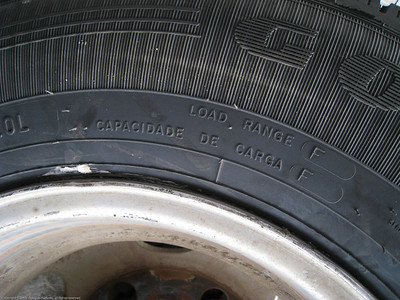Installing new tires for the Fuso. Trujillo, Peru.