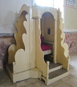 Confession booth. Otavalo, Ecuador.