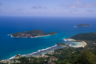 view from the top of morne blanc