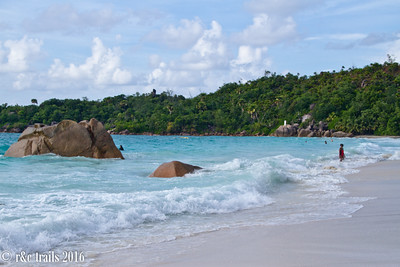 anse lazio, known for turquoise water and white sand