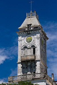 House of Wonders clock tower - one of the first buildings with electricity and an elevator