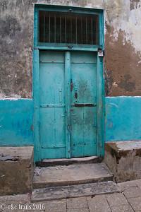 stone town doorway