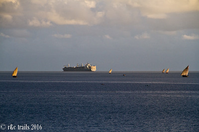 vessels on the indian ocean