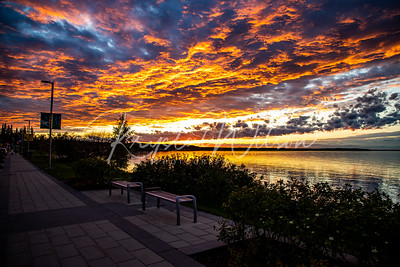 Sunset Walk At Kinsoo Beach
