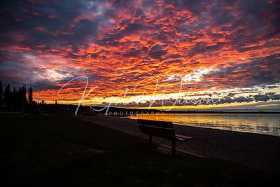 Kinsoo Beach At Sunset