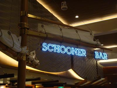 Schooner Bar located on the Royal Promenade