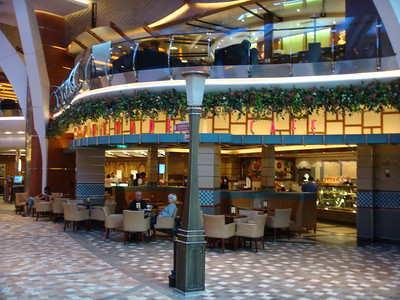 Cafe Promenade on the Royal Promenade