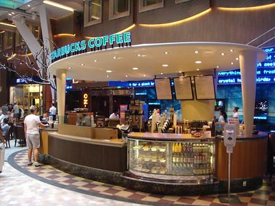 Starbucks on the Royal Promenade