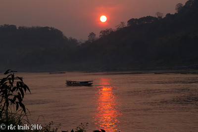 mekong meets sunset