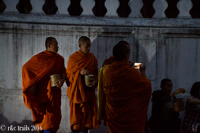 monk photographing monks