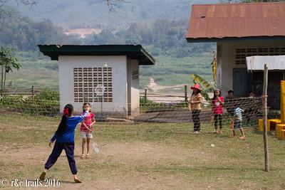 afternoon badminton game