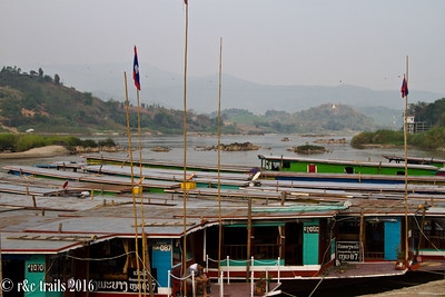 we're off on a long boat for two days down the mekong!