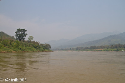 looking north, thailand on the left and laos on the right