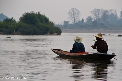 locals on the mekong