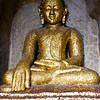 each temple had a different style of buddha inside