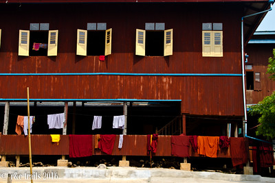 laundry day at the monastery