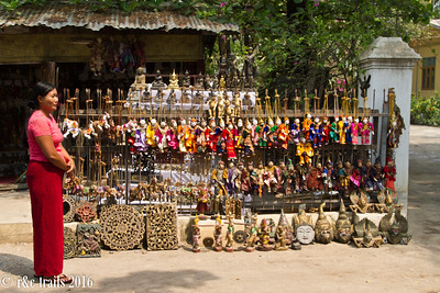a puppet souvenir shop - puppeteering is a common artform in this country.